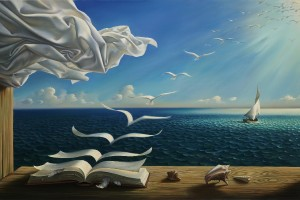 digital-fantasy-font-b-art-b-font-nature-font-b-painting-b-font-sunlight-books-birds
