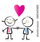 stock-vector-valentine-s-day-two-people-in-love-holding-hands-cartoon-children-s-drawing-style-series-see-more-68546989